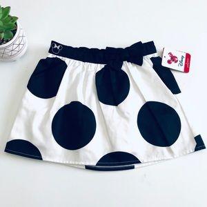 NEW Disney Minnie Mouse Polka Dot Black & White